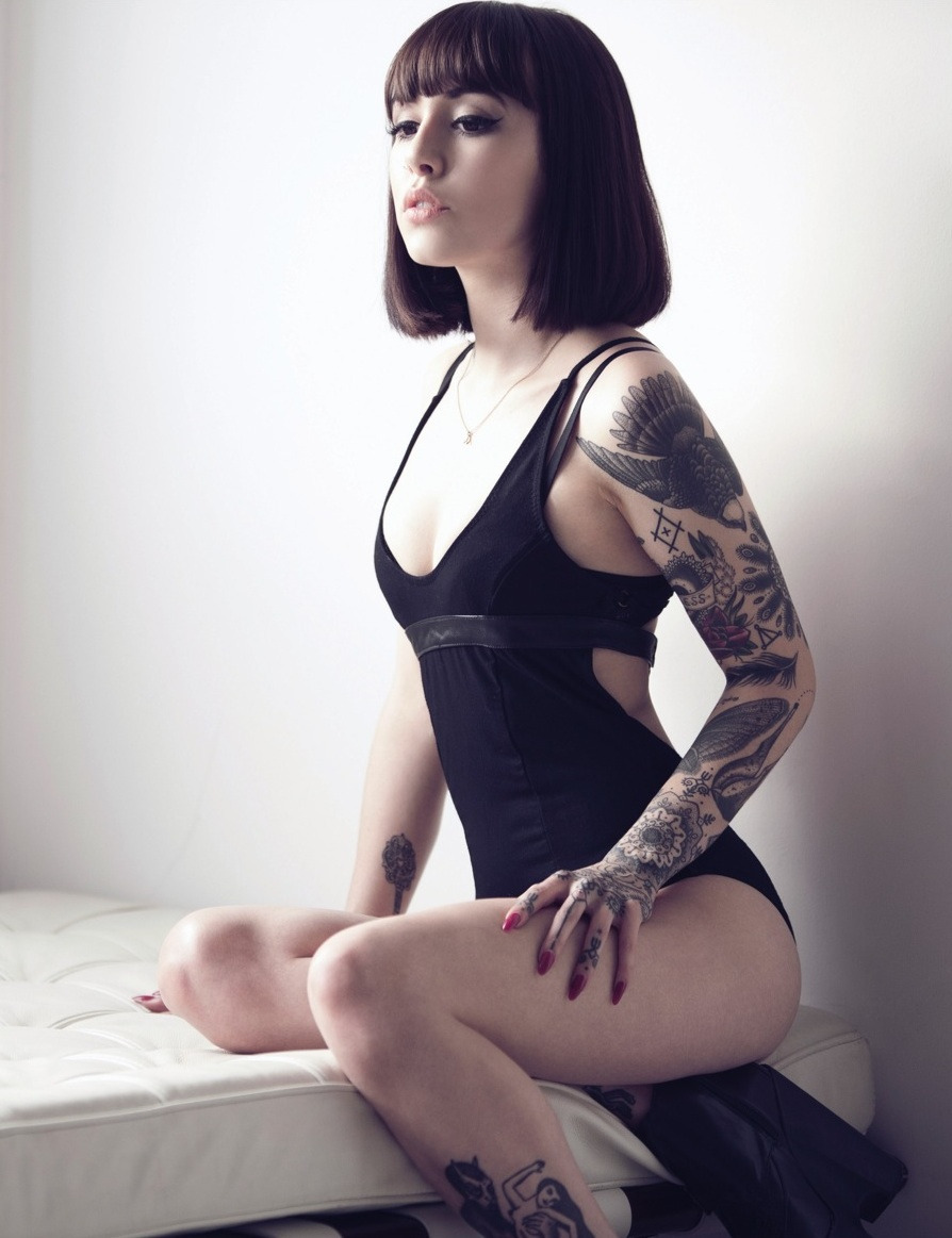 Hanna  Photo: Ruan Van Der Sande  Inked Girls: March/April 2013