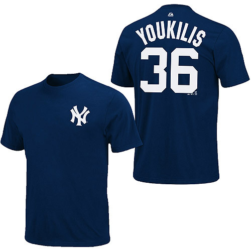 Kevin Youkilis t-shirts are in stock at the Yankees' online shop.  I will not be buying one. Ever.