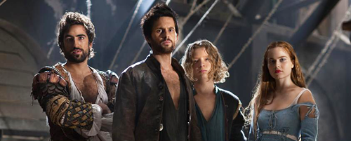 tomriley:  David S. Goyer has posted a blog update for episode 3 of Da Vinci's Demons 'The Prisoner', with some fascinating info about the deleted scene for the episode, available on the iPad app. Don't read yet if you haven't watched the episode.  For the record, there was a short little scene involving Giuliano and Leonardo riding home after the convent experience – where Giuliano grudgingly admits Leonardo's effectiveness. I really, really liked the scene – and it helped develop their relationship – but we had to cut it for time. Hopefully, we can include it on the DVD set.
