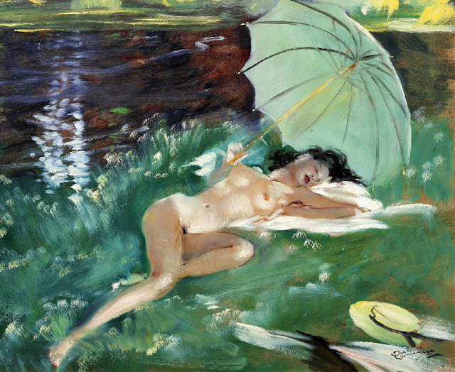 Art by Jean Gabriel Domergue
