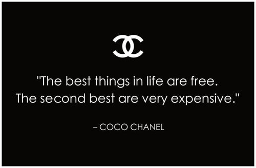 kurtmuller1:  Quote of the Day - Coco Chanel  :]