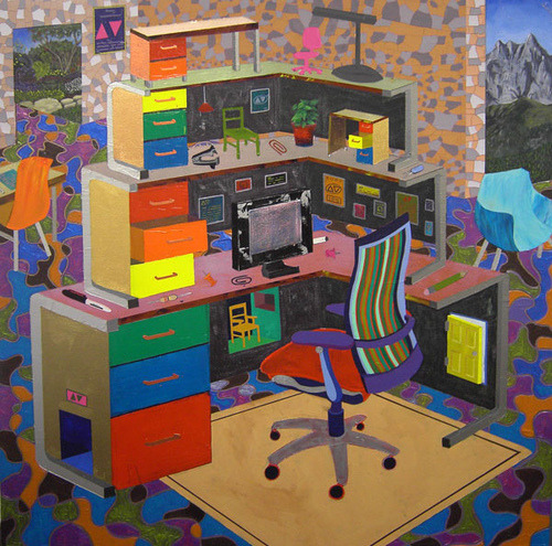 supersonicelectronic:  Jeremy Couillard. Paintings by Jeremy Couillard: Read More