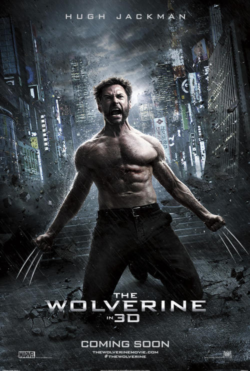 Hey ladies, check it out… it's a brand new poster for The Wolverine Via