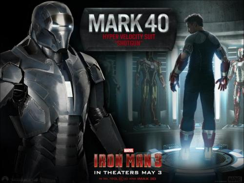 lemonlimevanilla:  SPOILER ALERT for IRON MAN 3!  Tony Stark's new armors unlocked!!! ;-) *drooooooools* :-P~~~