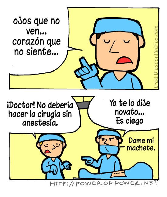 En ciertos casos se puede operar sin anestesia
