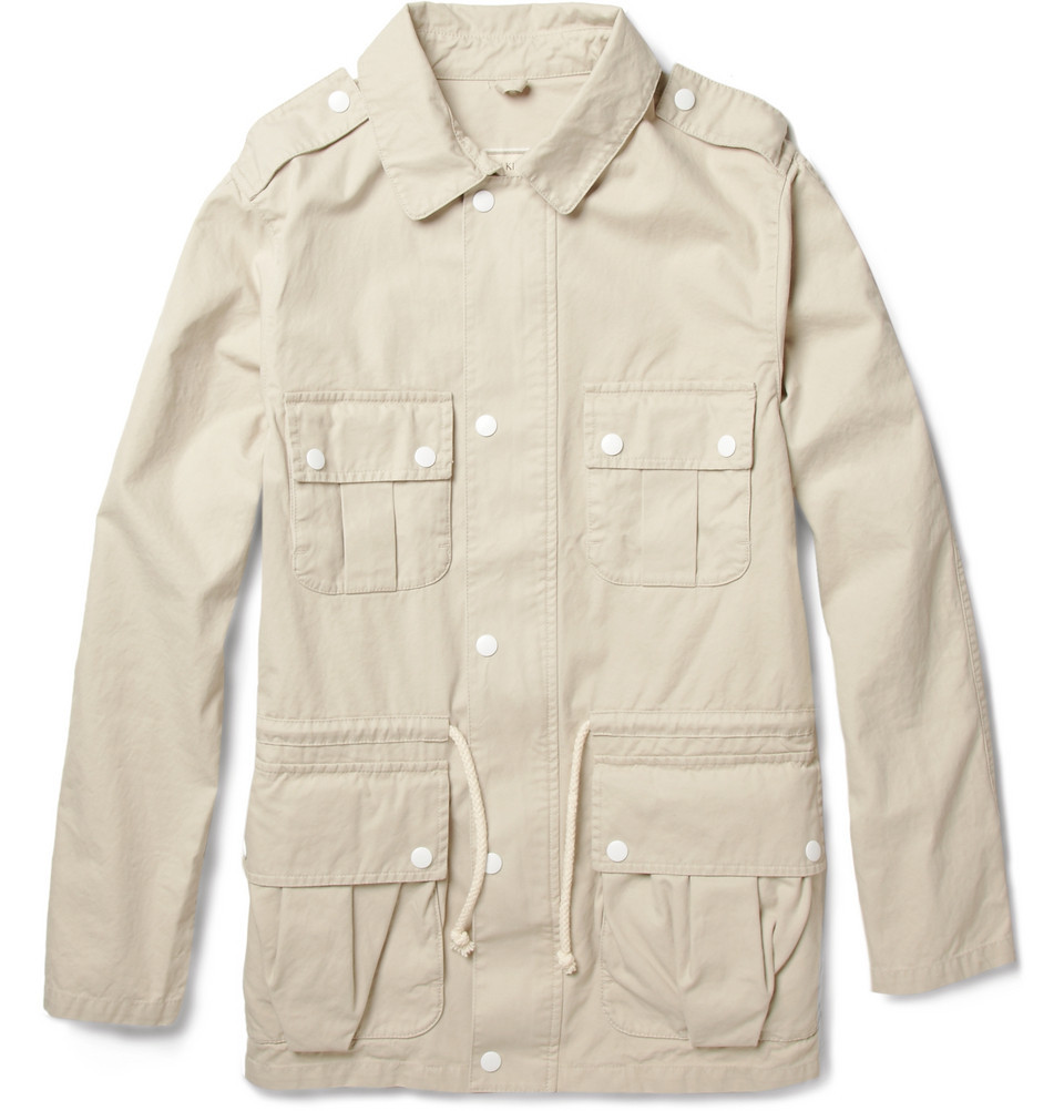 Kitsune safari jacket up in the Mr Porter sale which just went up to 80% off. Kitsune is usually absurdly expensive too, worth a cop. Get it on with your faded dad jeans for this season's hottest look.