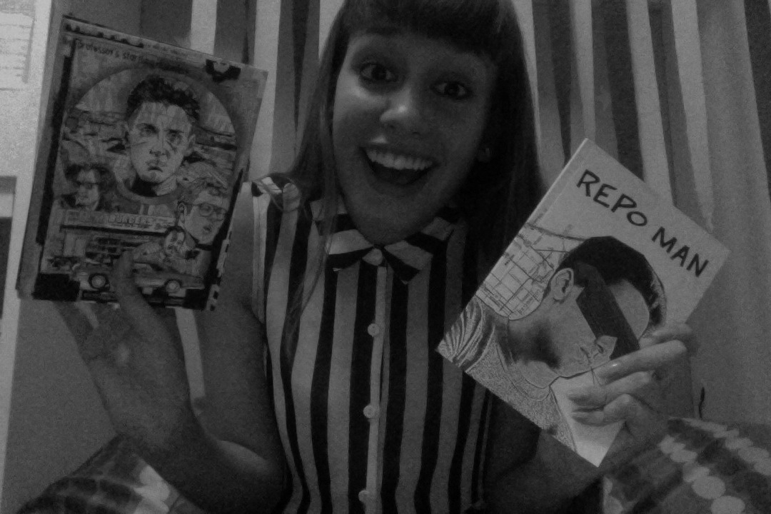 "I finally got my Criterion copy of Repo Man, and I am beside myself with joy. ""Ordinary fucking people, I hate 'em."""