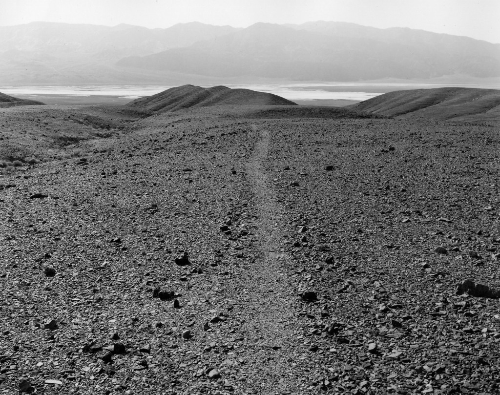 Mark Ruwedel, Death Valley: Ancient Footpath From Nevares Springs to the Lake, 1996