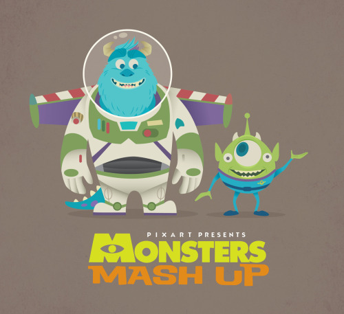 Calling All Artists! Submit Your Very Own Monsters Mash-Up Artwork. Simply Mash A Monsters, Inc/University Character With Anything Else. More Details »
