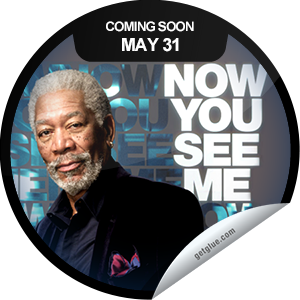 I just unlocked the Now You See Me Coming Soon sticker on GetGlue                      1527 others have also unlocked the Now You See Me Coming Soon sticker on GetGlue.com                  Come in close because the more you think you see the easier it will be to fool you. Now You See Me opens in theaters on 5/31. Be sure to check it out.  Share this one proudly. It's from our friends at Summit Entertainment.
