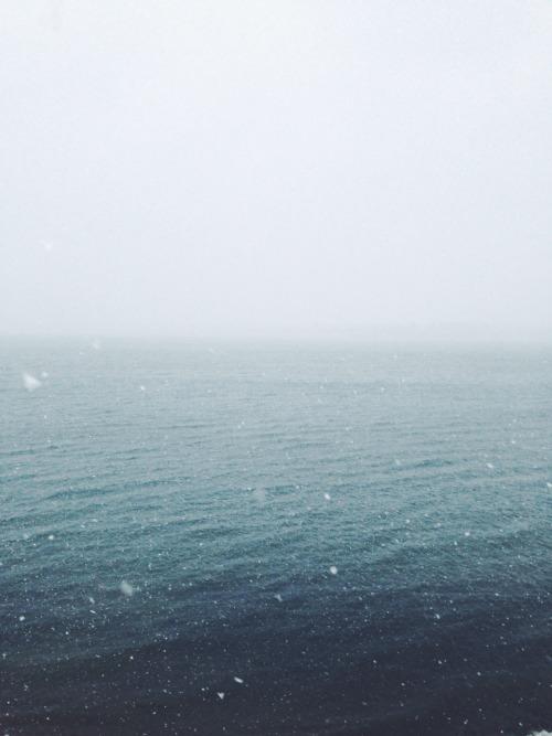 Snow Winter NYC Water Blue Ocean Bronx Vsco Vscocam Forgot