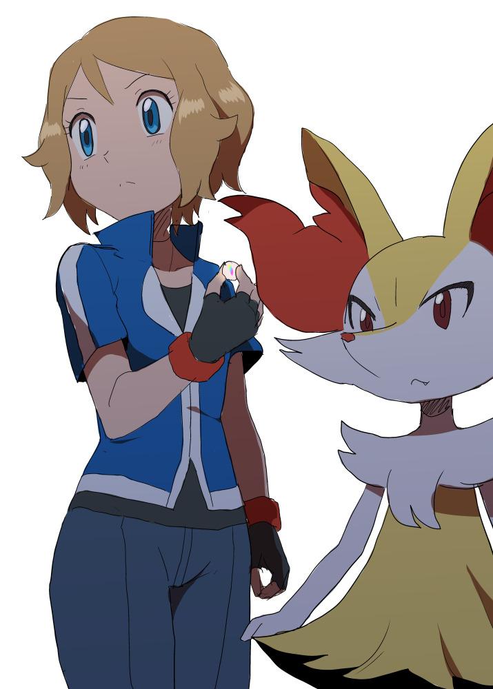 Pokemon serena y ash xxx