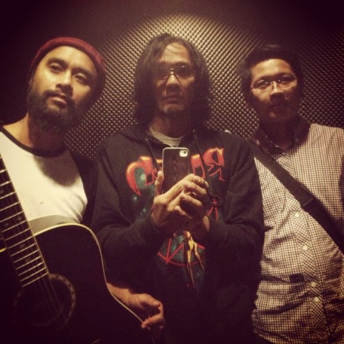 With @satria_nb @PikMaioBurger after rehearsing
