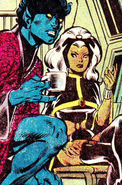 jthenr-comics-vault:  Nightcrawler & Storm by Dave Cockrum