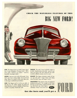 Fact Checking, 1941 Ford by paul.malon on Flickr.