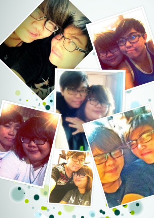 3 more days to our Anniversary! :D I love love love you!!!! :D  Joel Loh is mine :D