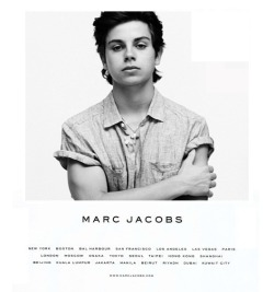 la-vita-di-classe:  Jake T. Austin for Marc Jacobs