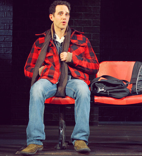 Santino Fontana in Off-Broadway's Sons of the Prophet (2011).