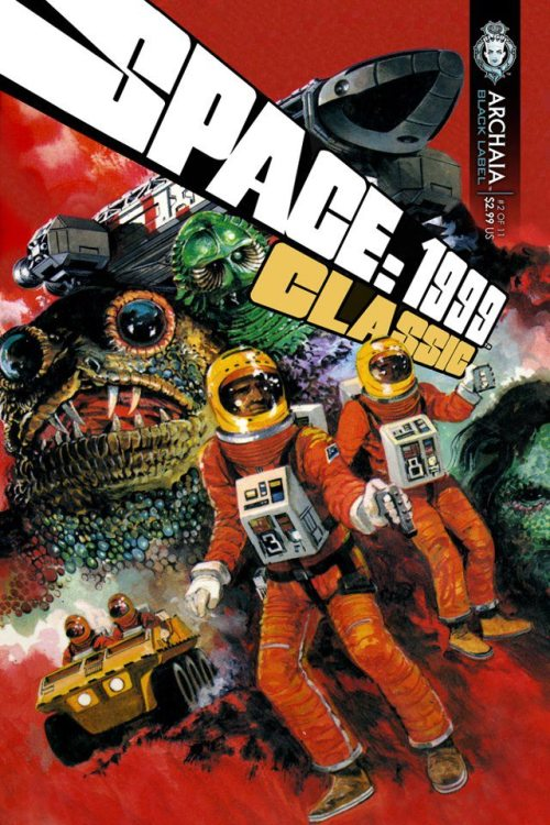 Space: 1999 - Classics Remastered #2 Written by Andrew E. C. Gaska and Nicola Cuti Art by Miki and Gray Morrow Purchase your copy at Comixology!