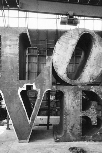 nonconcept:  LOVE by Robert Indiana.