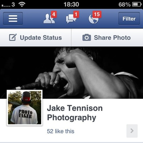 I set up a Facebook page last night. I'll be posting gigs, events, some product photography and maybe some #modelling/band promos if anyone's interested. If you ever see me at a gig or event, all the photos will be here. I uploaded all the photos from #UltimateImpact 9 earlier. Gonna add last weeks #gigs from Birmingham Rainbow and the Gloucester Secret Show when I get home. If you know anyone from anything posted, please tag and share them about. Thanks. #SeeYouInThePit #JakeTennisonPhotography #UKHC #UKSWELL #hardcore #gig #photography #mma #RottingOut #Expire #Survival #Outlived #TrialAndError #BabyGodzilla #KJMBookings