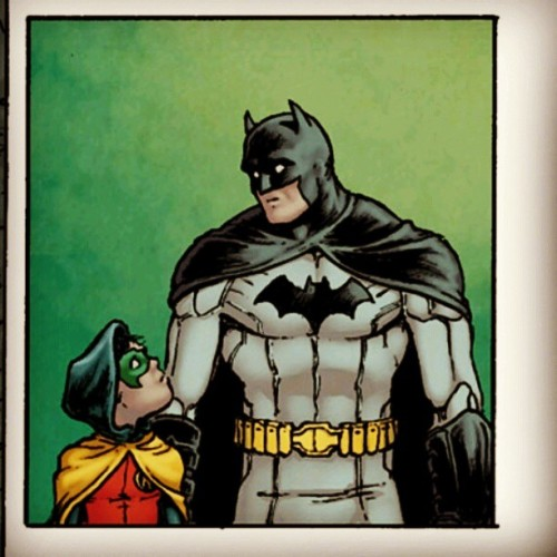 "was gonna post the ""why"" for the stare but naaaah' #batman #robin #wayne #dc #comics #requiem"