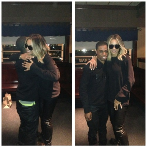 teamcsquad:  Ciara spotted at Red Lobster in Atlanta