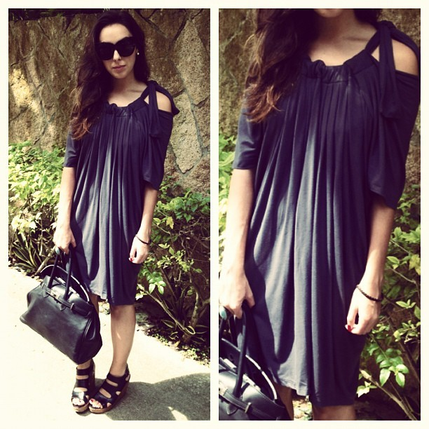 afashionableleo:  Wearing a dress by Singaporean label @ilovehansel. My go to label for comfy yet stylish pieces. This dress can be worn three ways! Styling post coming soon on afashionableleo.com. #singapore #love #fashion #style #lotd #ootd #wiwt #styling #hansel #label #designer #sunshine