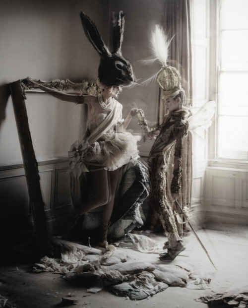 'Lady Grey' Stella Tennant photographed by Tim Walker for Vogue Italia March 2010