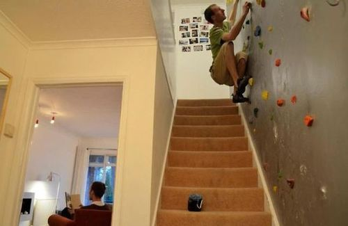 myextremesports:  Rock Climbing In Your Home - Jokeroo on We Heart It. http://weheartit.com/entry/49576197/via/Jokeroo