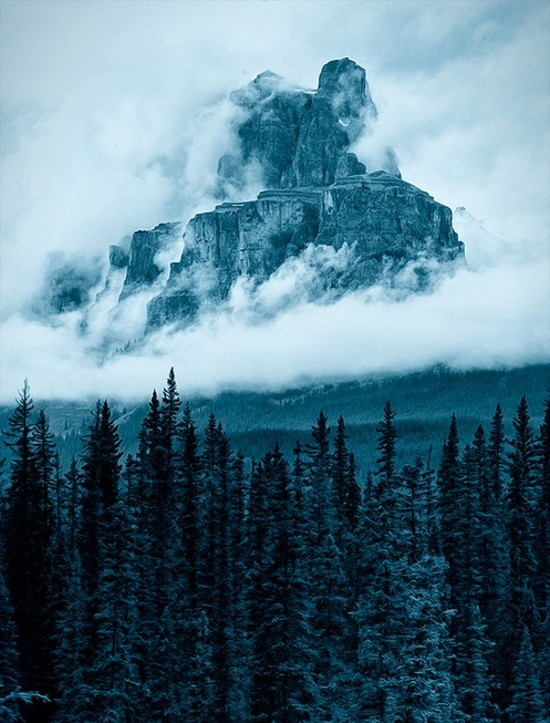 x-enial:  The Castle Mountain by Gregory Boratyn