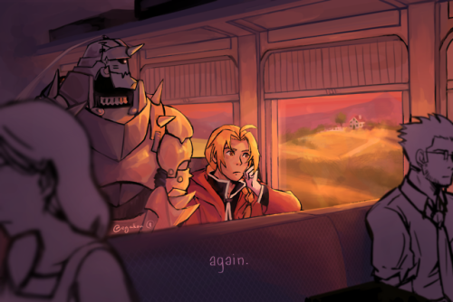 fullmetal alchemist fullmetal alchemist: brotherhood fma fmab edward elric alphonse elric my art fanart digital i know every word of this opening by heart LMAO also pls look at the Full Landscape version in detail there are a few Fun Easter Eggs i got tired of working on this so it& 039;s kinda rough rip