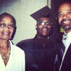Happy Mothers Day to my Grandma (Mrs Mattie Turner)! We love u and appreciate your wisdom , strength and love. And her cooking.. Oh my! Don't go to Nashville without getting a plate.  (at New School University graduation 2007)