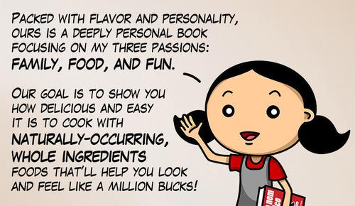 Our (Cookbook) Birth Announcement! by Michelle Tam http://nomnompaleo.com