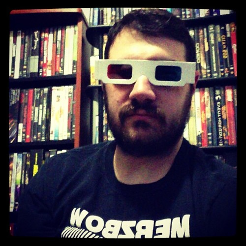 Am I instagraming right? #self #merzbow #3D #dvds #beard #noise