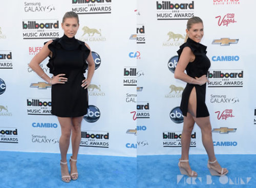 Ke$ha goes for less is more in a hip-baring Givenchy dress at the BBMAs