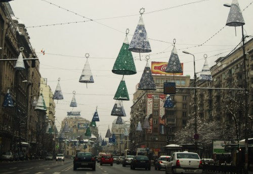 Bucharest had cute Christmas decorations this year…unfortunately they were already turned off when i was there