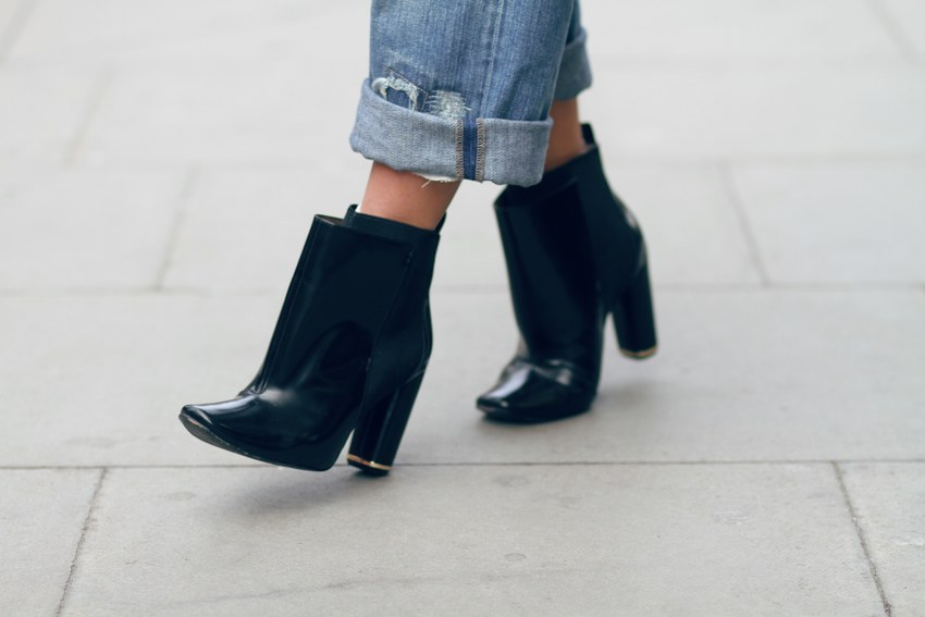 Diane Von Furstenberg Rudi Leather Ankle Boots (image: shinebythree)