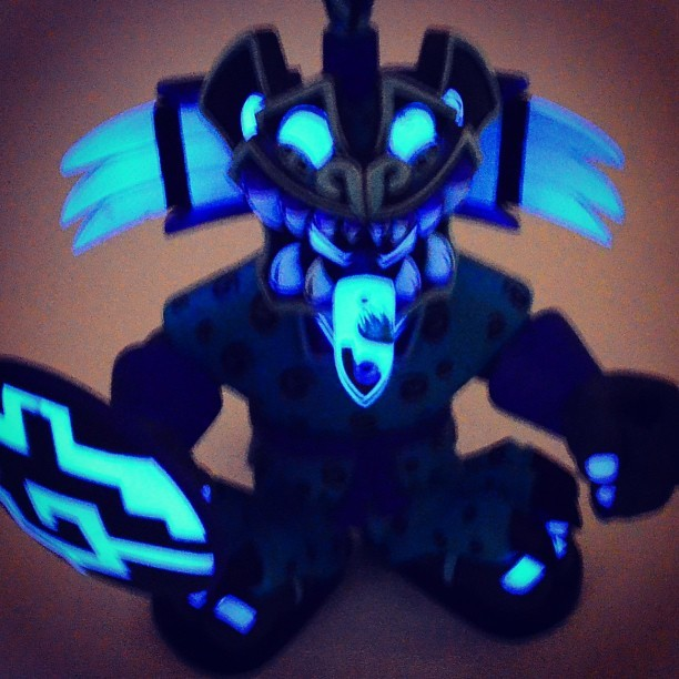 Get your glow on. #jaguarknight #southern #pobbertoys #photooftheday #toys