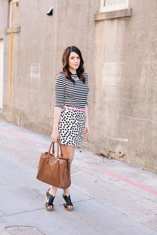 theeverygirl:  stripes and dots via Kendi Everyday