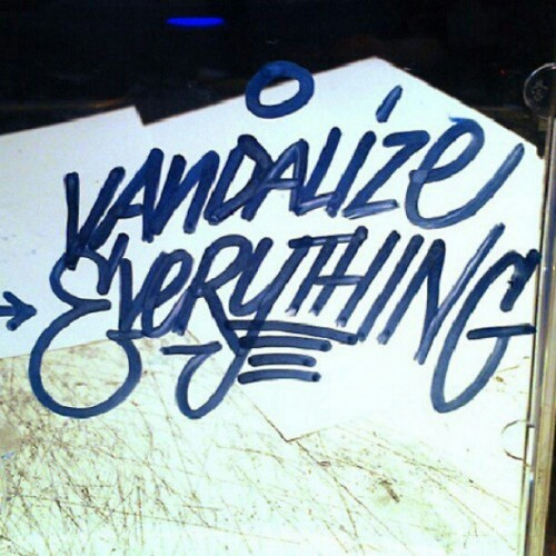 Good morning  #Graffiti #vandalize #everything