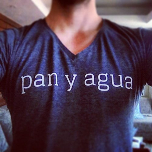 Pan y Agua T's arrived today. Available to order on http://privateer.co.za soon.