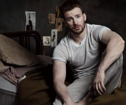 homotography:  Chris Evans by Mark Segal