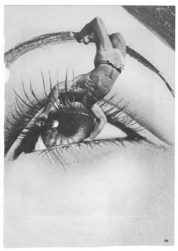 Illustration art Black and White eye collage collage art Diver artists on tumblr cut and paste paper collage art and nightlife Michael Tunk