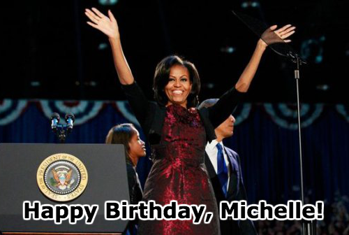 Happy Birthday, First Lady!