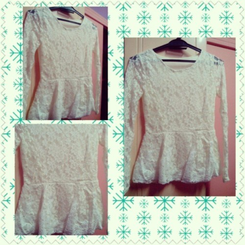 NEW PEPLUM DESIGN FOR SALE! RM39.90 ONLY! FREE POSTAGE FOR SEMENANJUNG. 1ST COMES 1ST SERVED BASIS LIMITED STOCK!! #KeymeyOn9Shopping #white #peplum #lace #dress