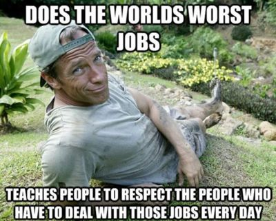 Mike Rowe is a Real-Life Hero