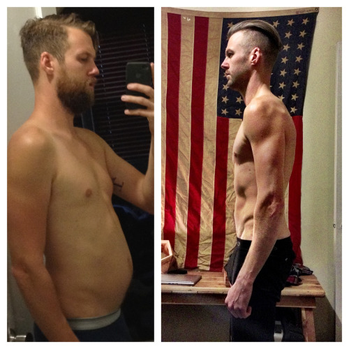 Humble brag time. Before and after of 6 months of eating paleo/bulletproof. It has changed my life. Plus a little climbing. No cardio. It's easier than you think.