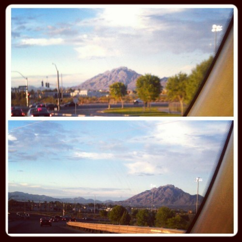 #Myview from yesterday… #Bestpart of #Vegas are the #mountains… #plainview