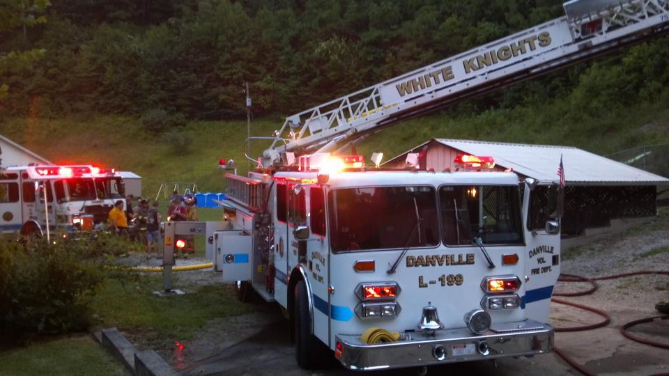 Danville Fire Department, West Virginia… L-199